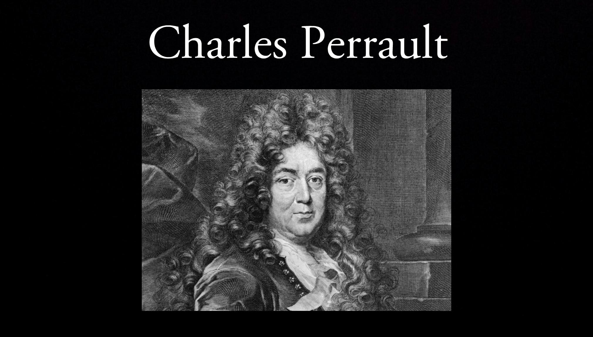Charles Perrault.