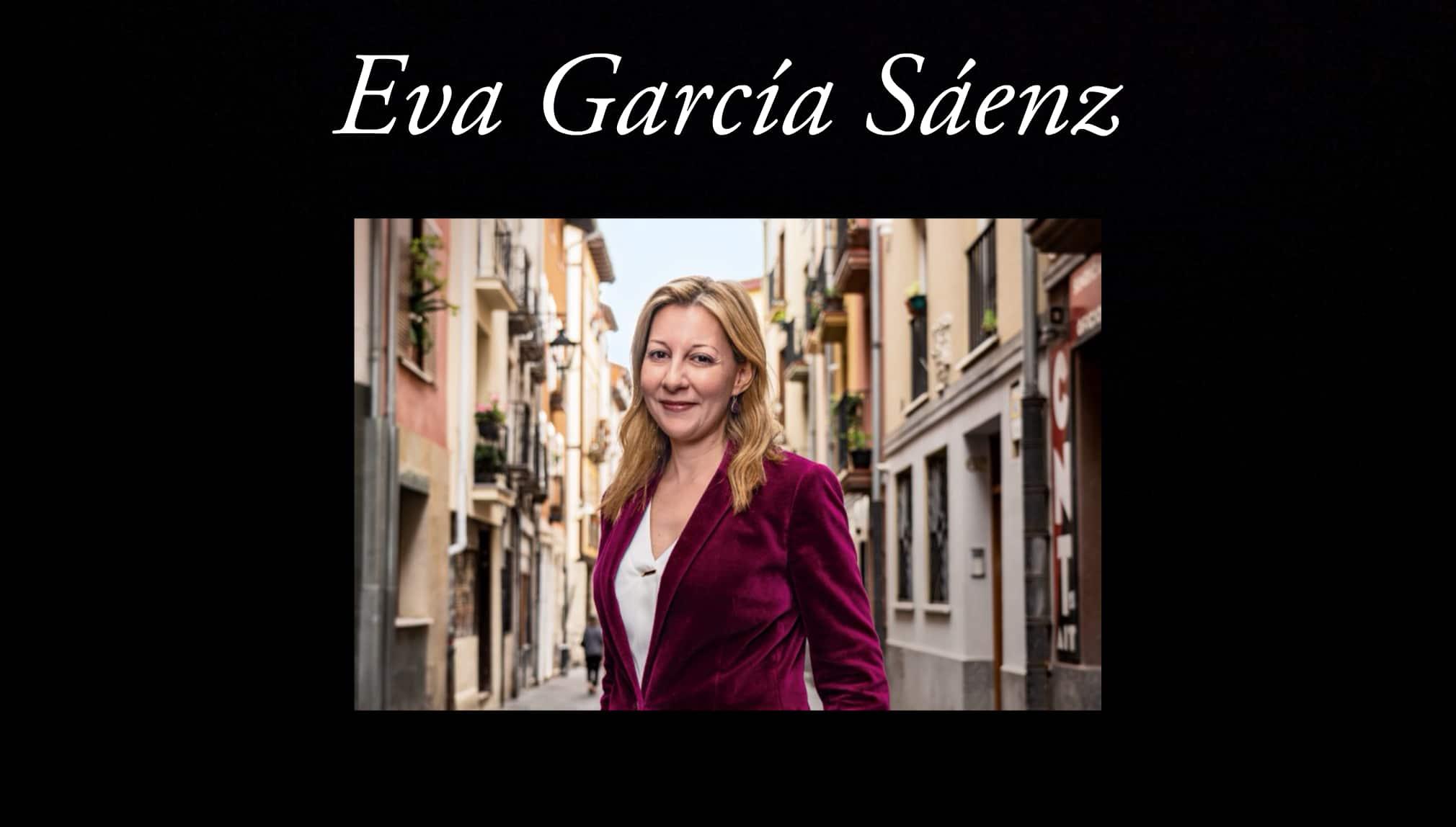 Eva García Sáenz.