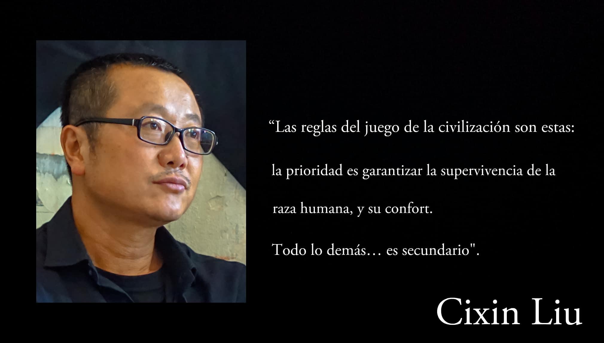Frase de Cixin Liu.