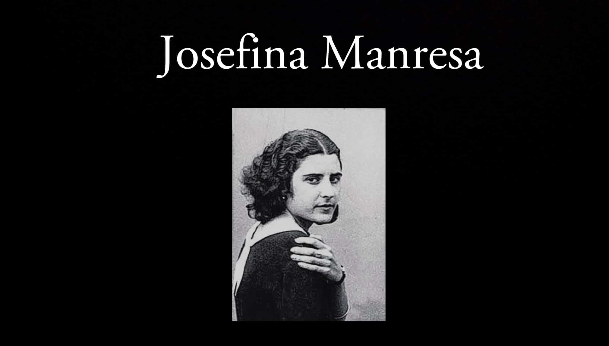 Josefina Manresa, quien fue esposa de Miguel Hernández.