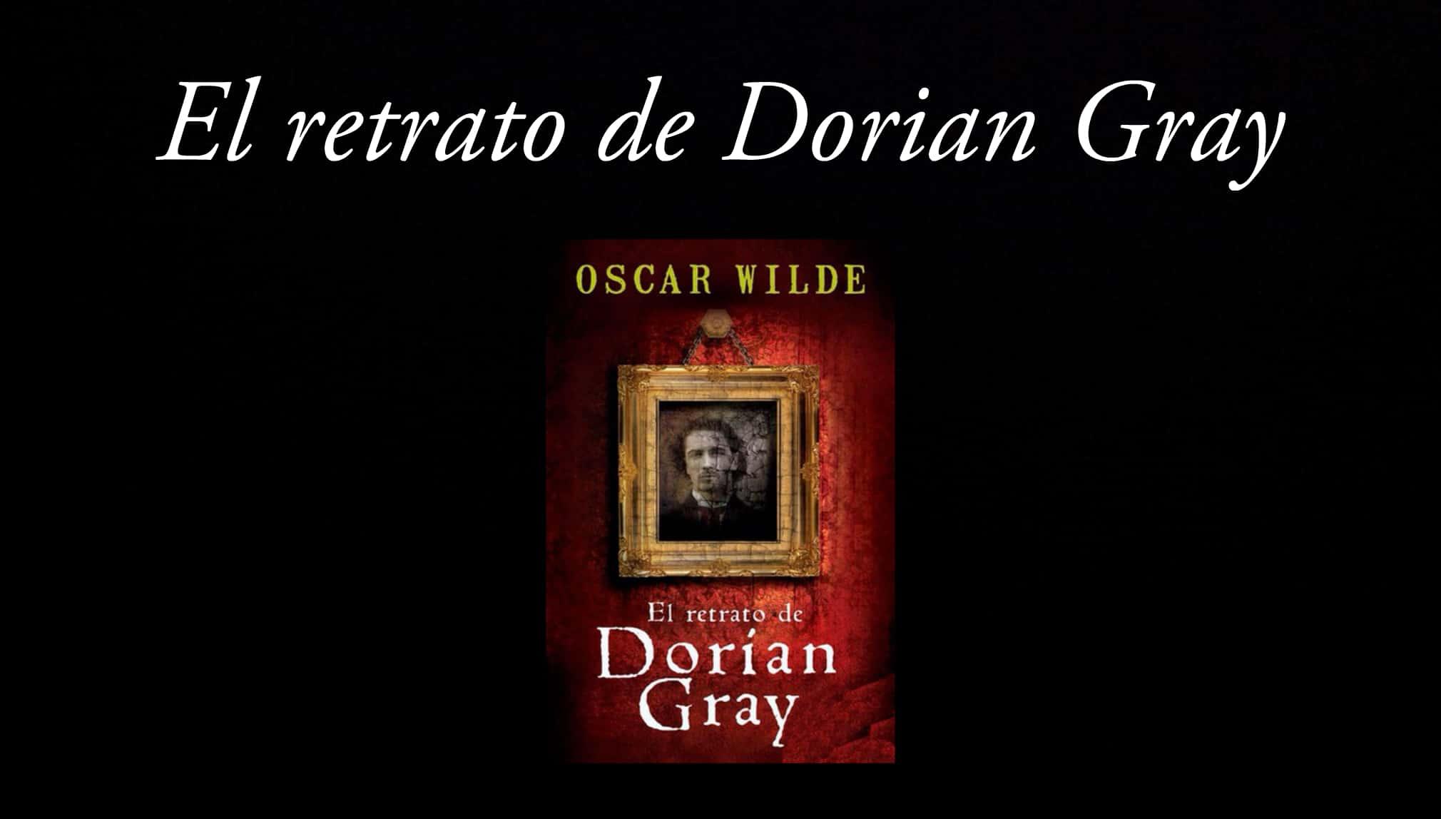 Libro de El retrato de Dorian Gray.