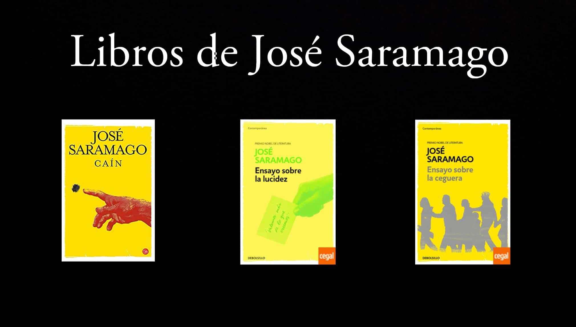 Libros de José Saramago