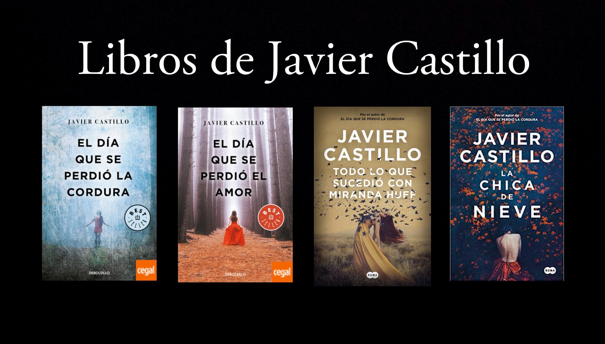 Libros de Javier Castillo.