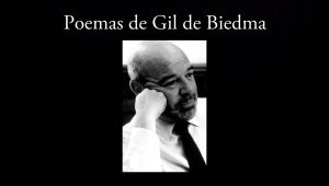 Poemas de Gil de Biedma.