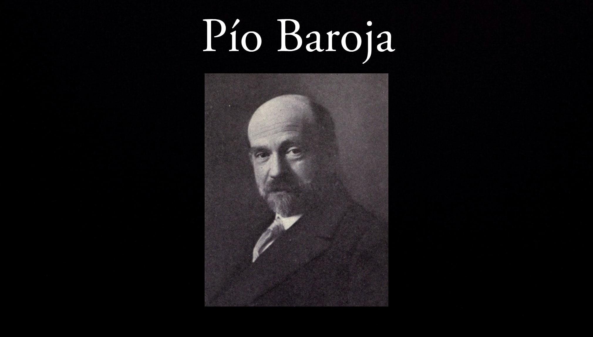 Pío Baroja.