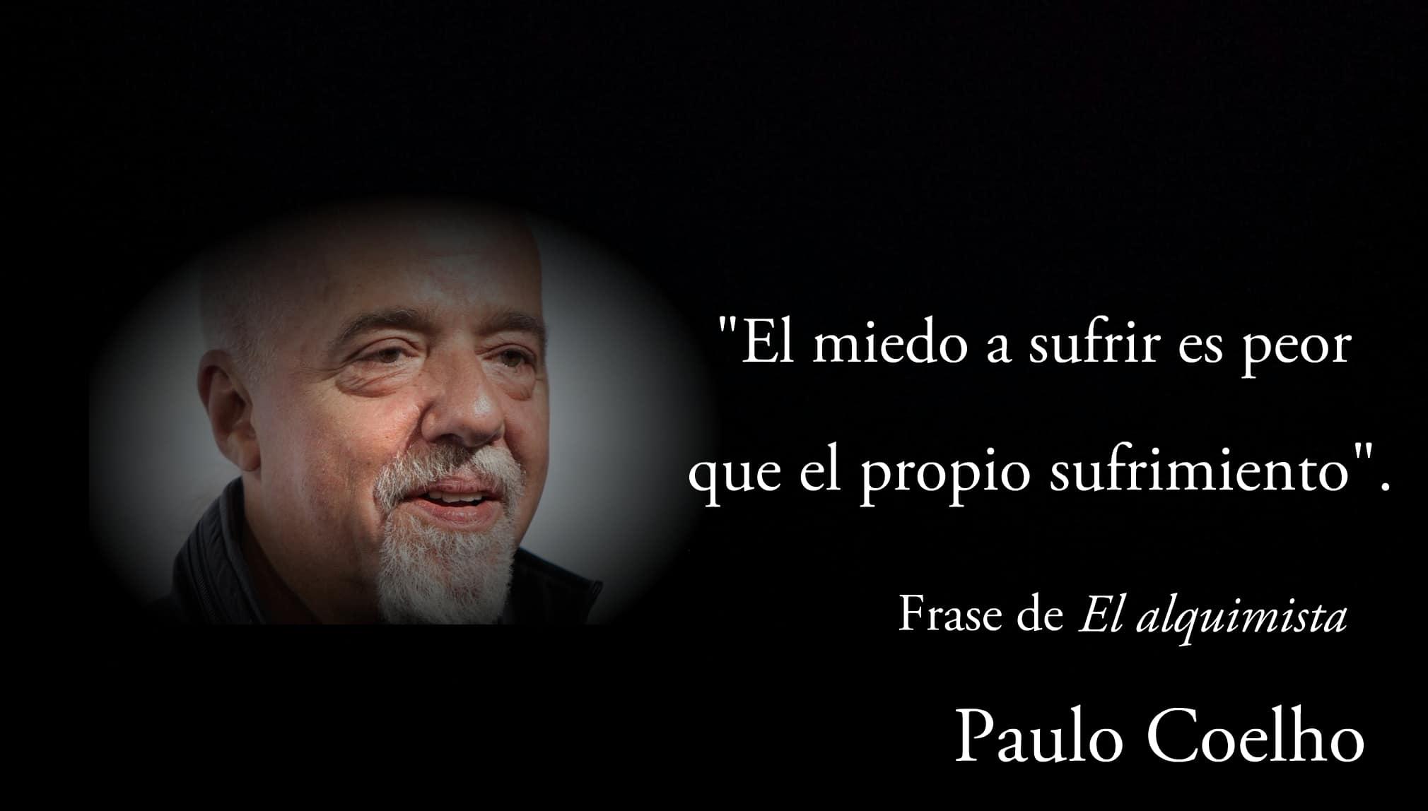 Frase de Paulo Coelho.