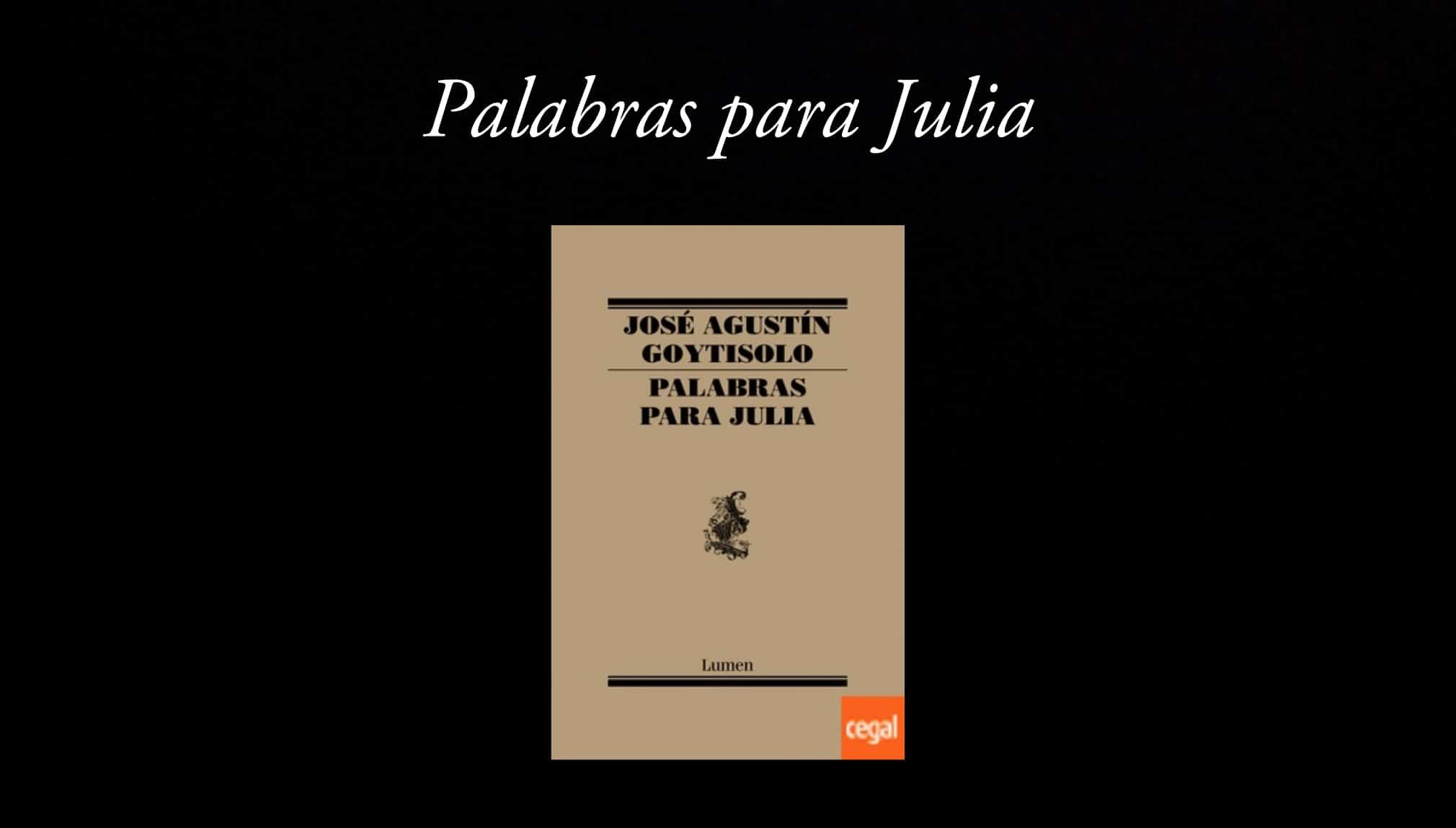 Palabras para Julia.