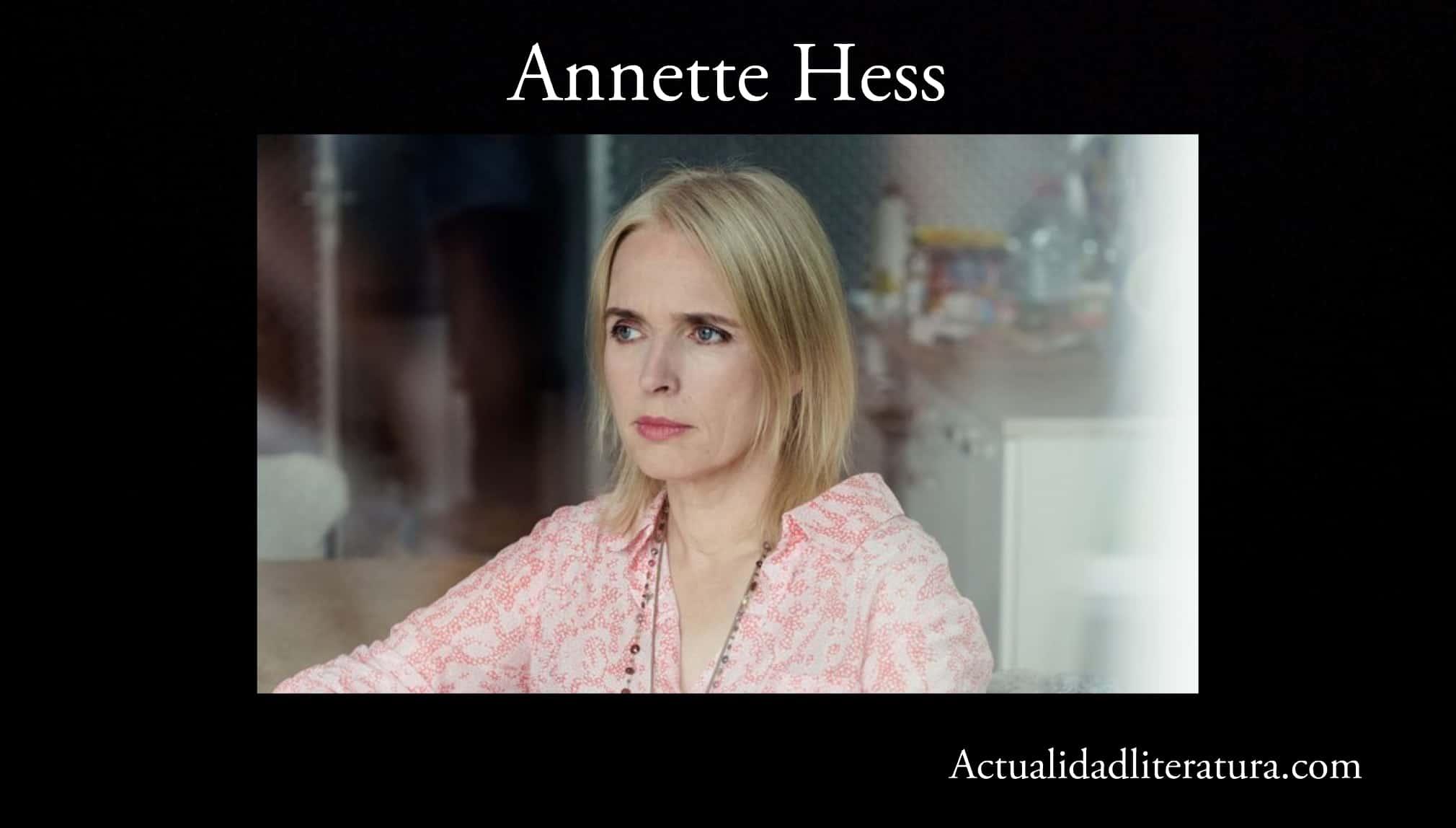 Annette Hess.