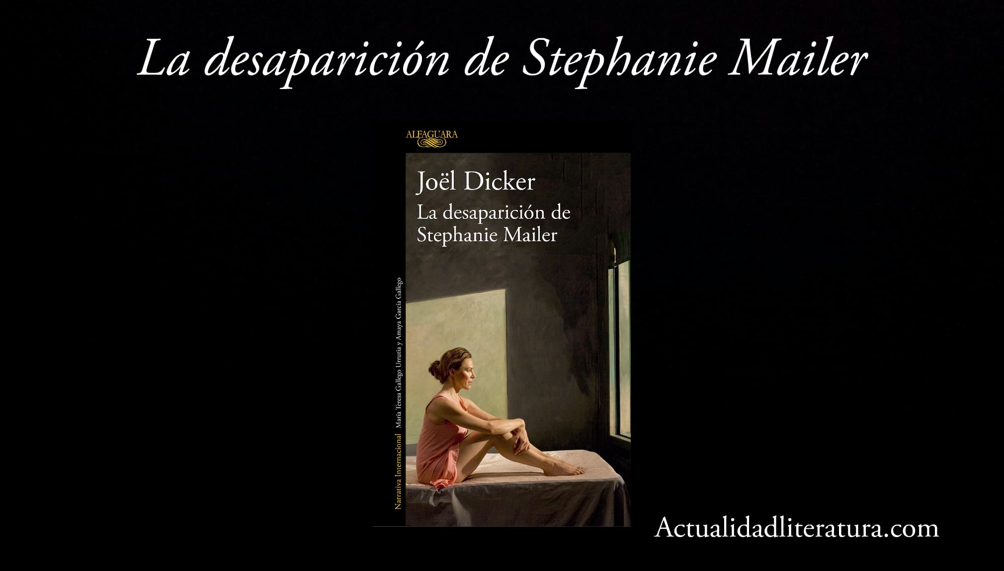 La desaparicion de Stephanie Mailer.