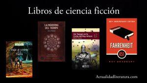Libros de ciencia ficción.