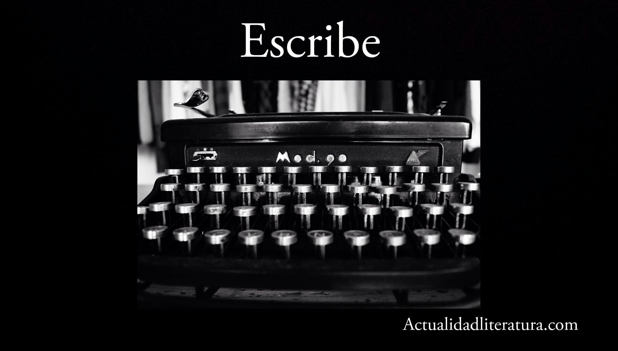 Escribe.