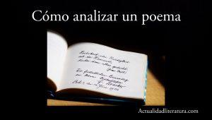 Cómo analizar un poema.