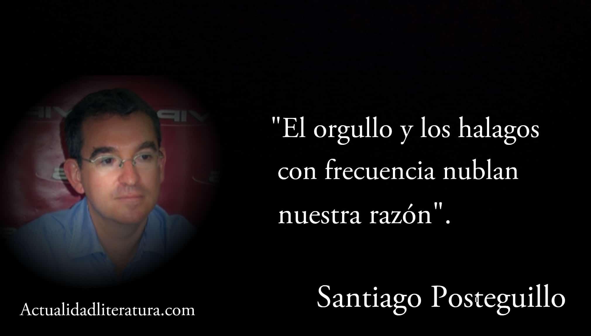 Frase de Santiago Posteguillo.
