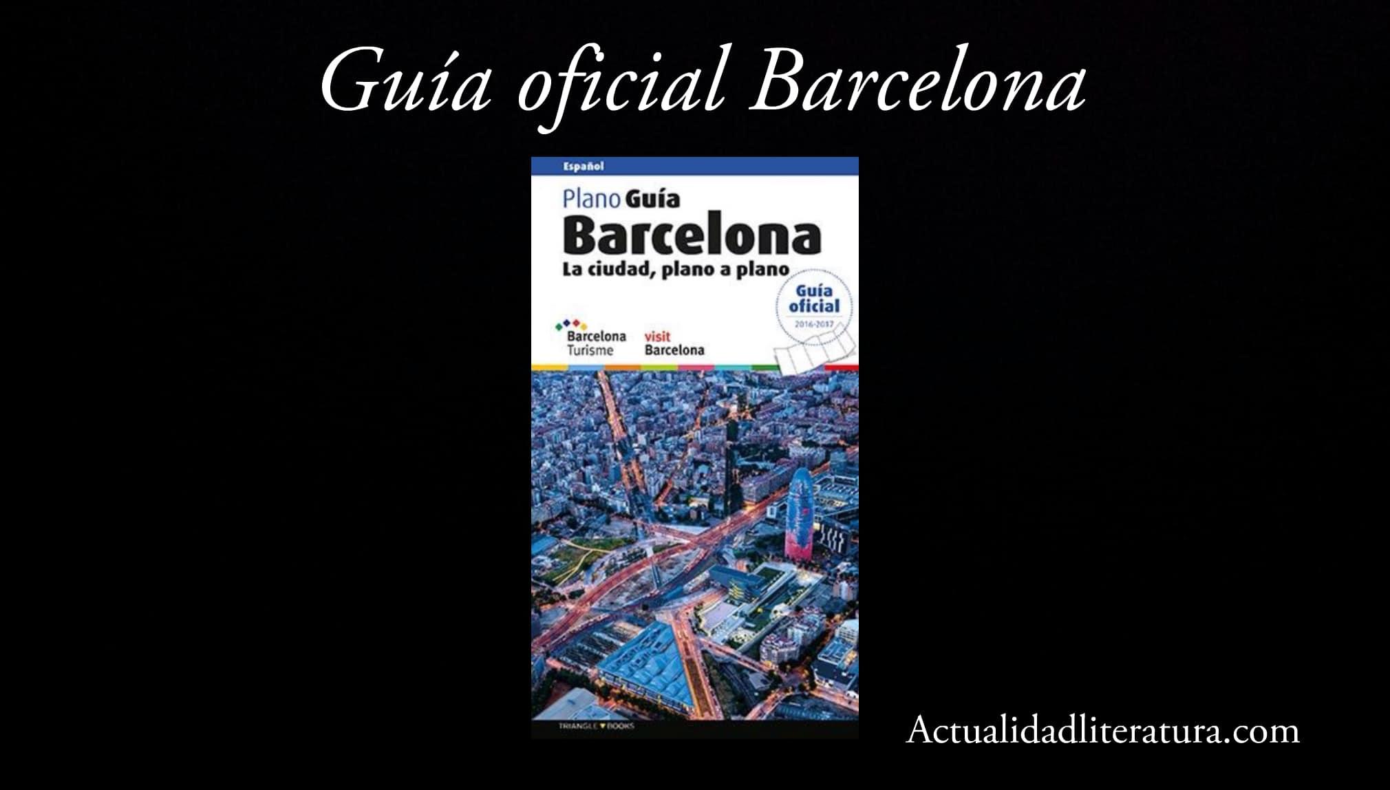 Guía oficial de Barcelona.