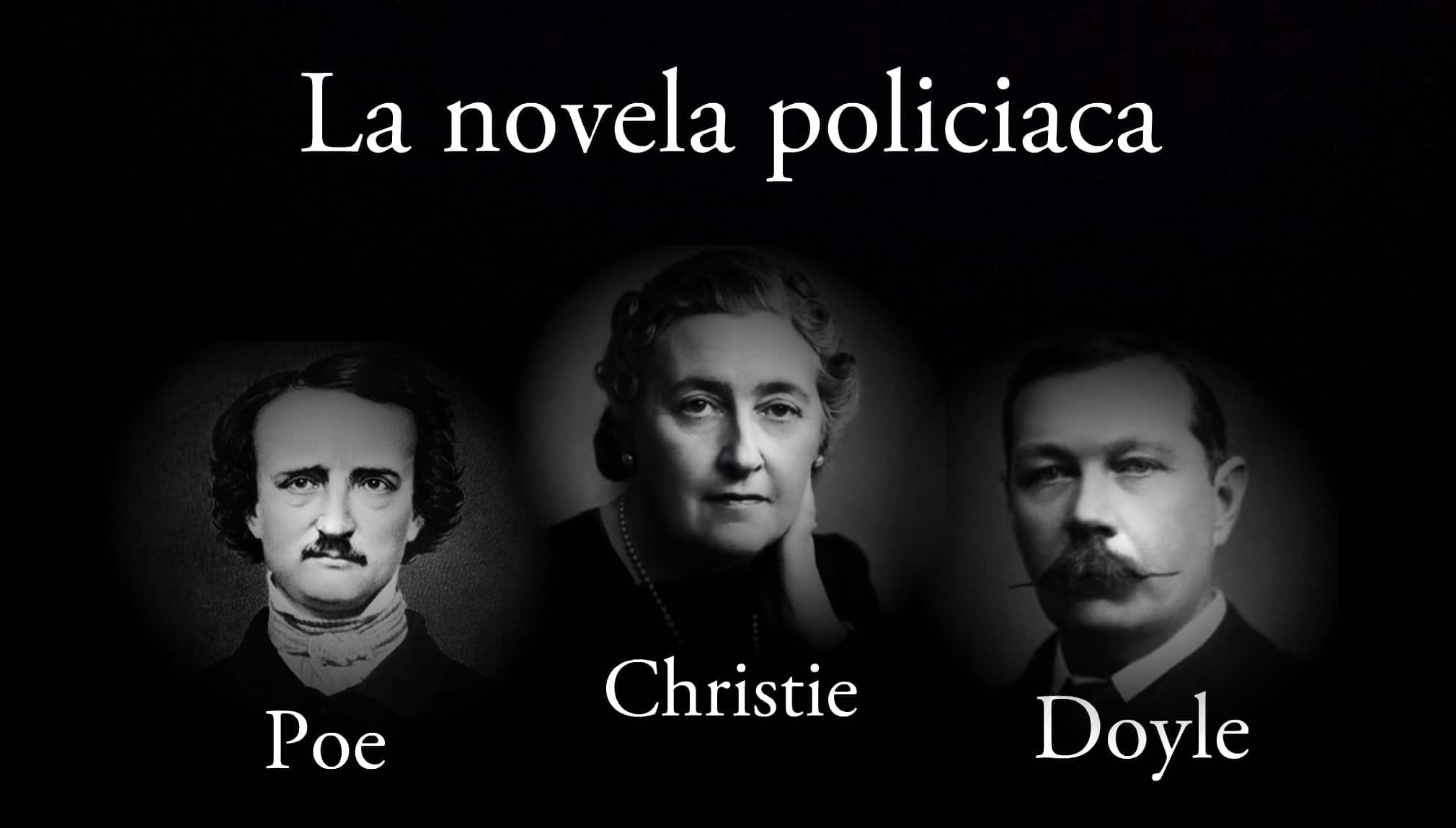 La novela policiaca.