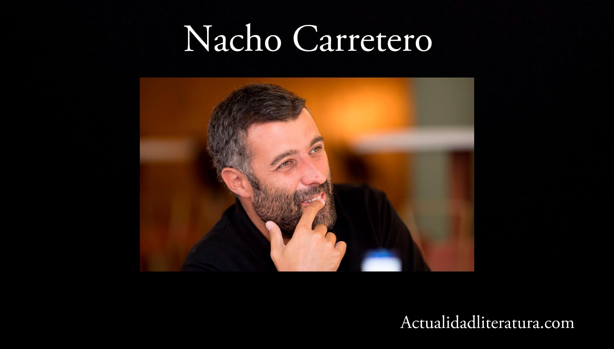 Nacho Carretero.