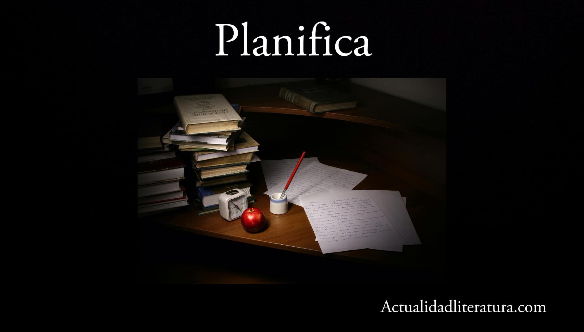 Planifica.