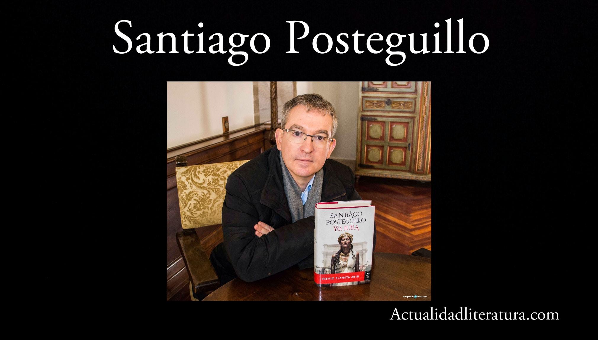 Santiago Posteguillo.