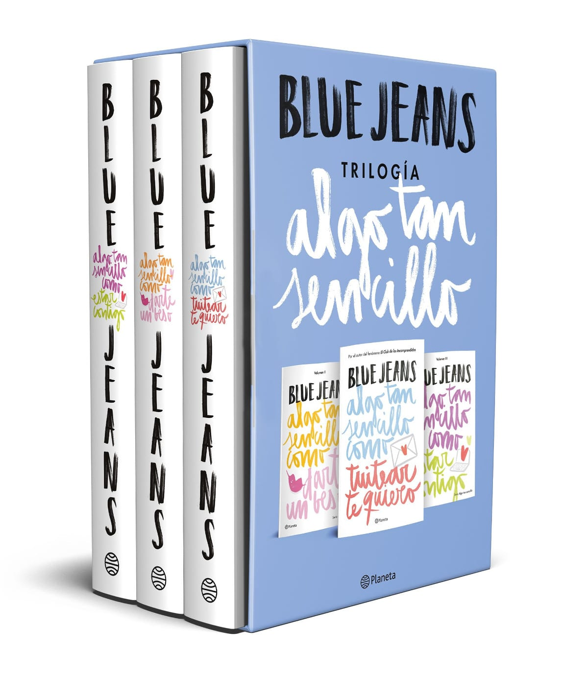 Las características de la pluma en los libros de Blue Jeans