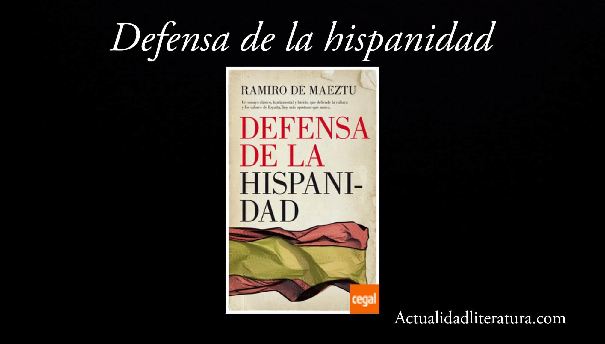 Defensa de la hispanidad.