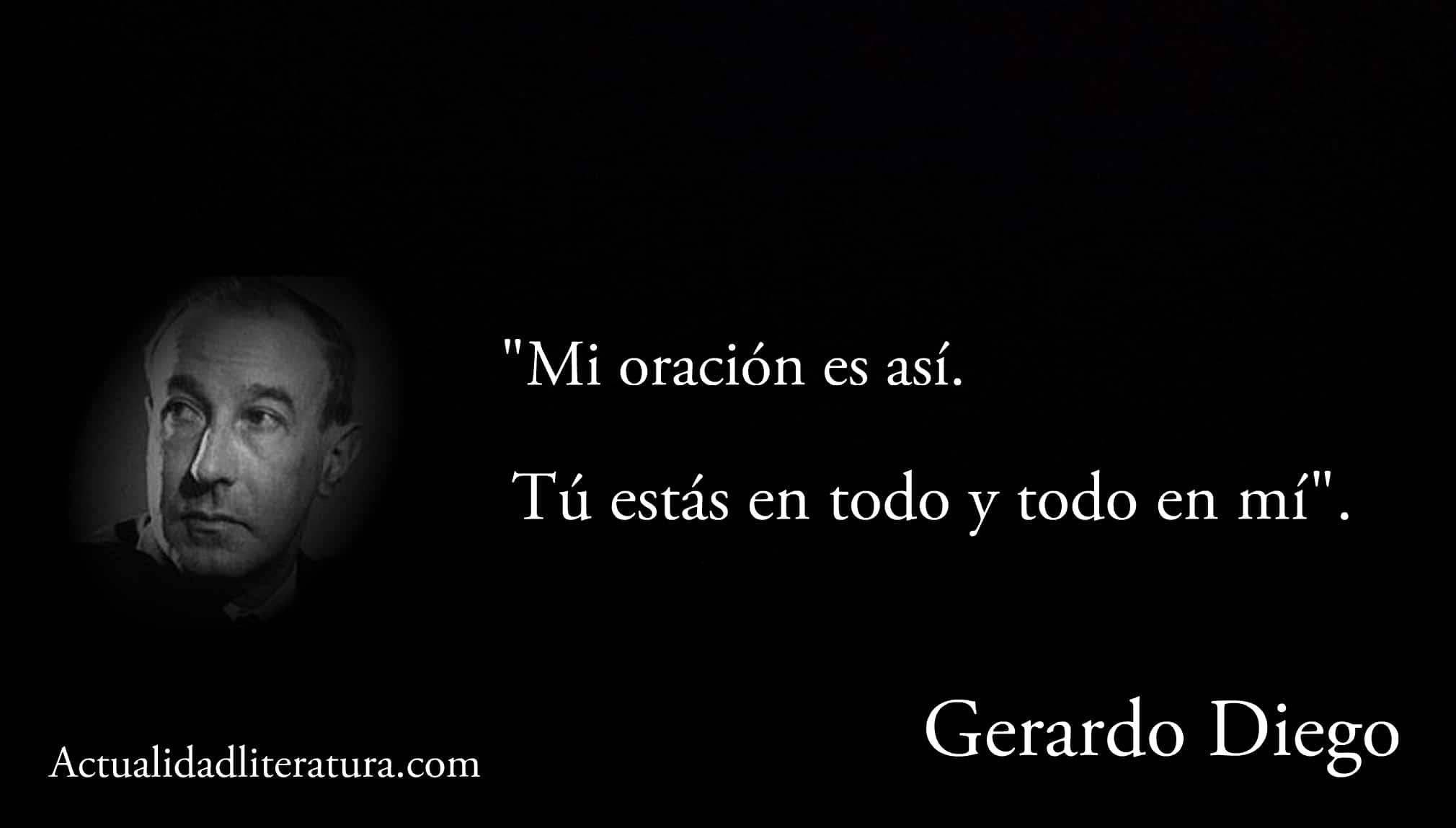 Frase de Gerardo Diego.