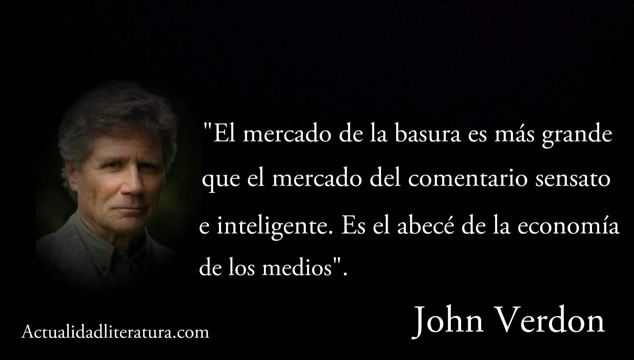 Frase de John Verdon.