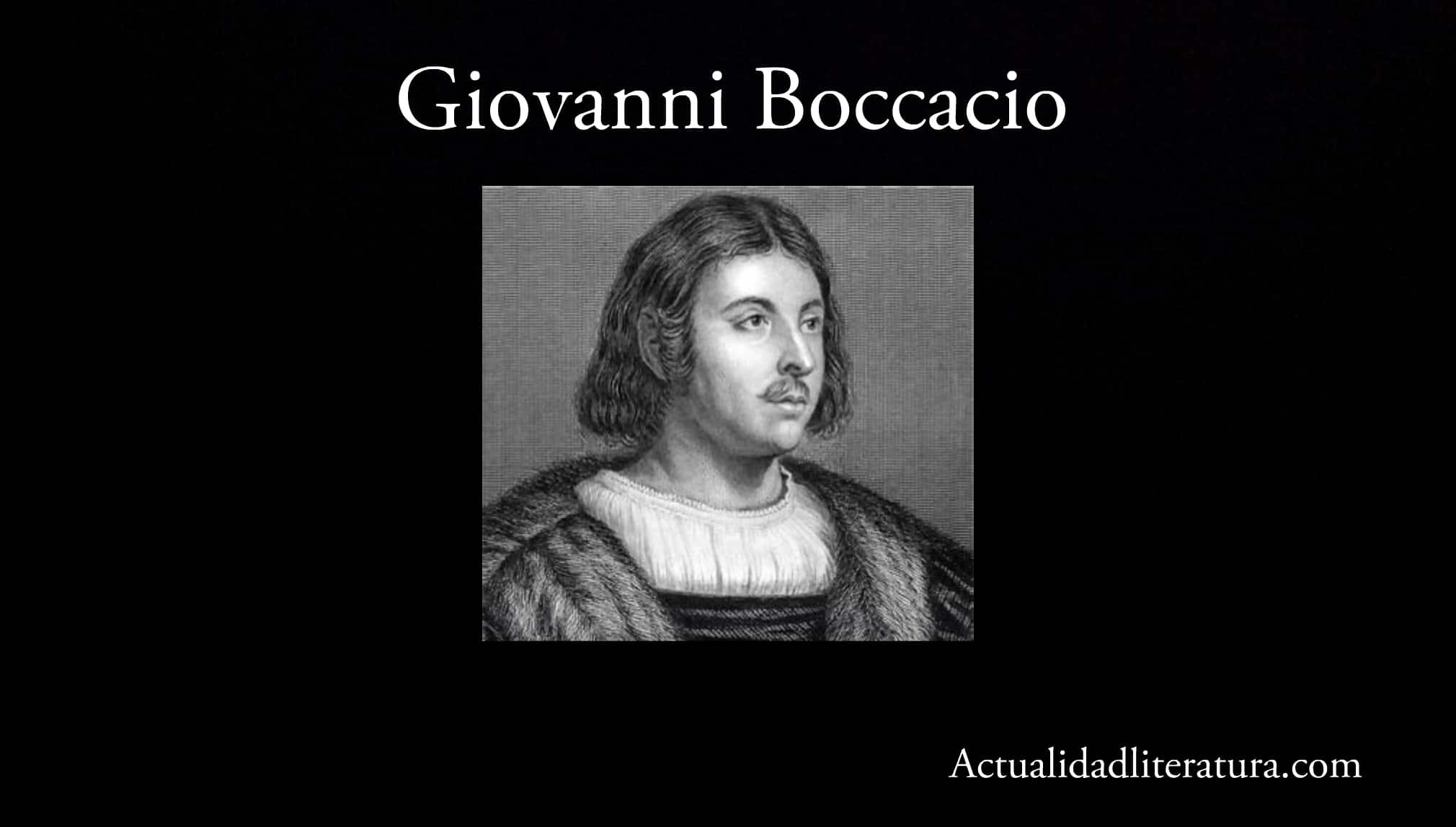 Giovannni Boccacio.