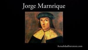 Jorge Manrique.