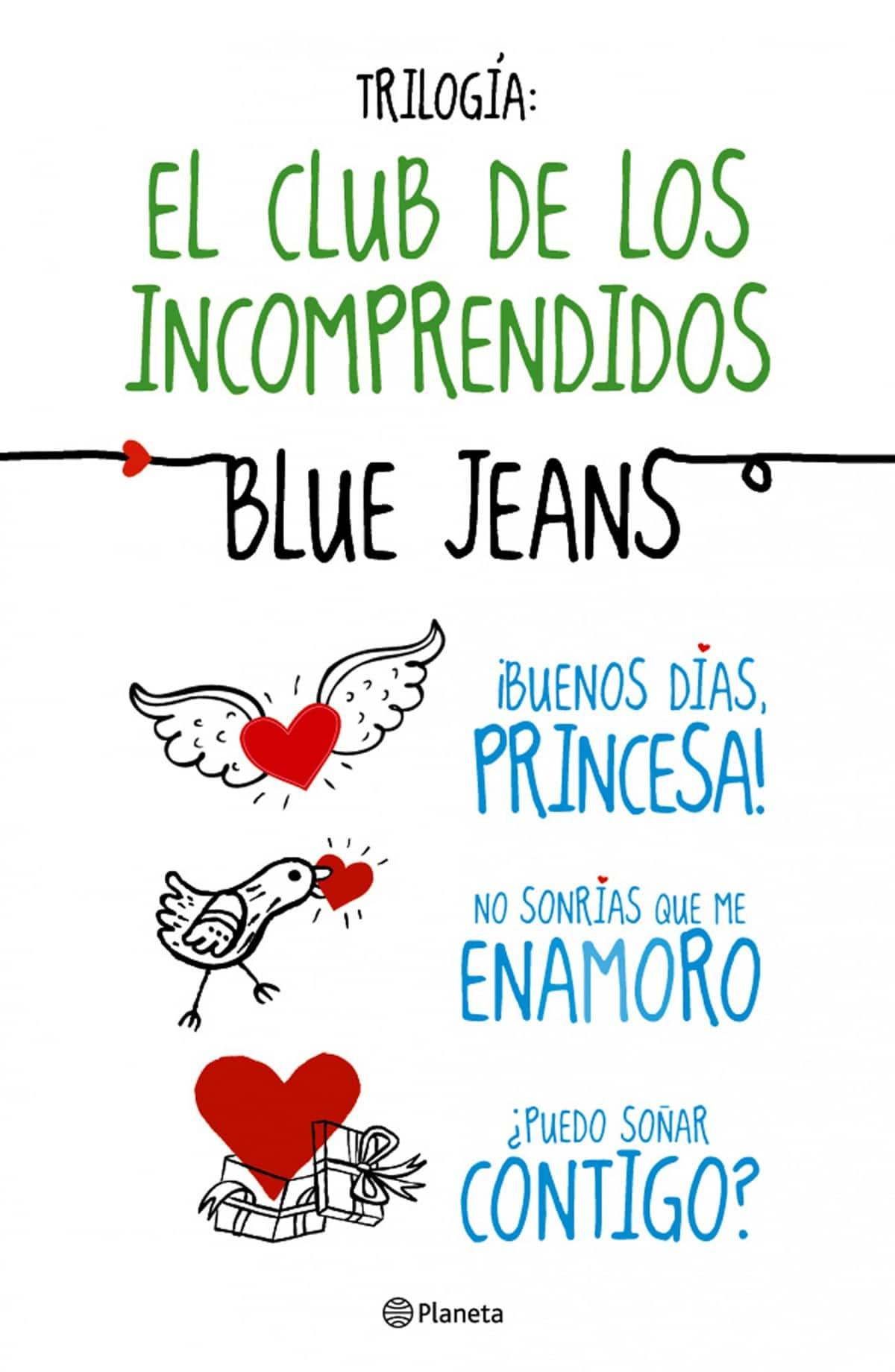 trilogia Blue Jeans