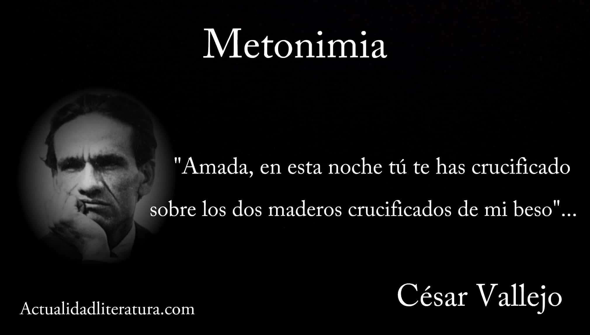 Metonimia en la poesía de César Vallejo.