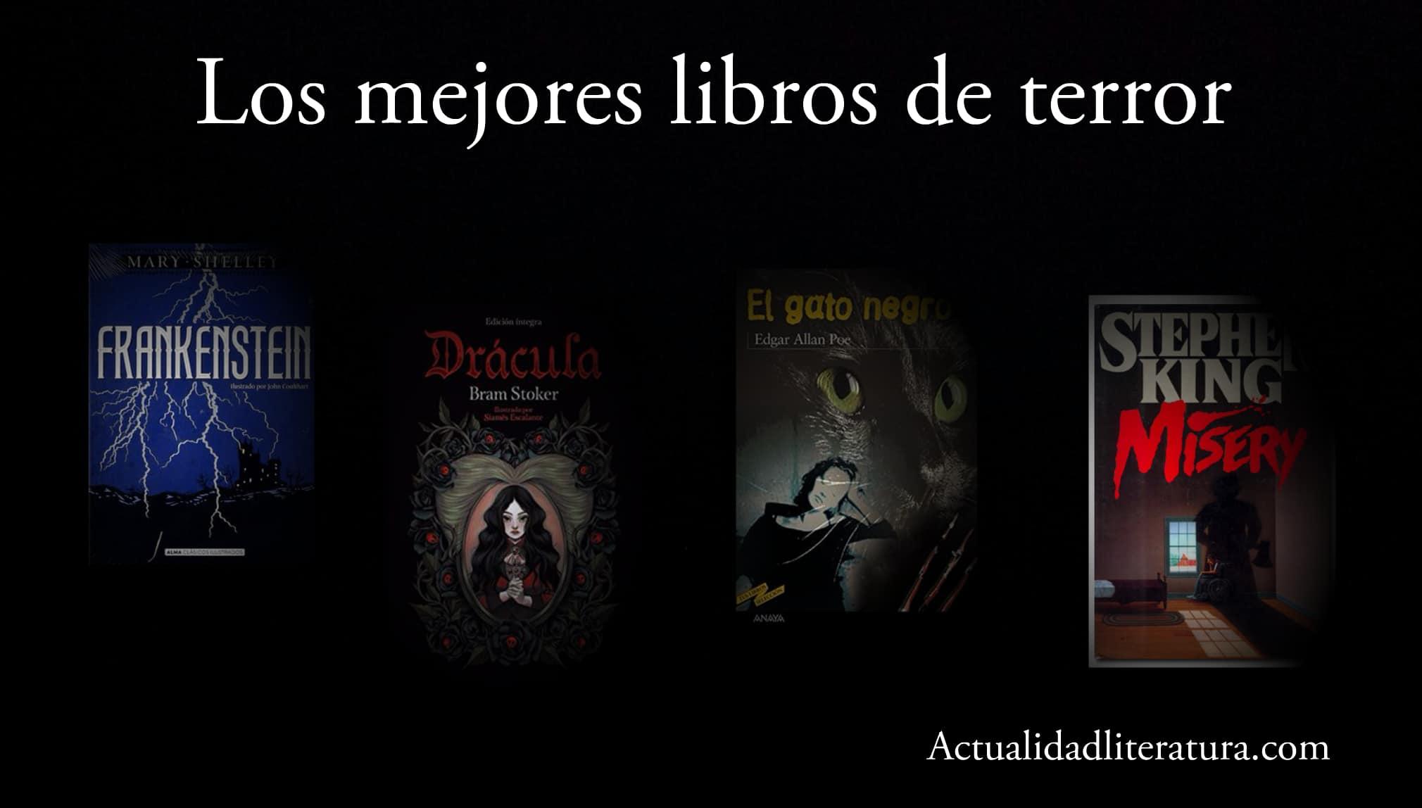 Los mejores libros de terror.