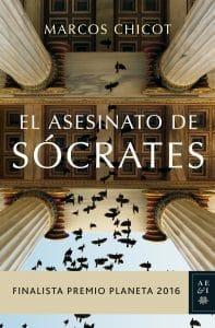 El asesinato de Sócrates Marcos Chicot, novela para regalar en navidad