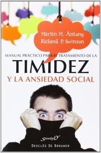 Portada del libro de psicología timidez y ansiedad social