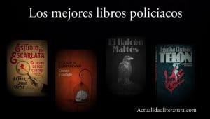 Los mejores libros policiacos