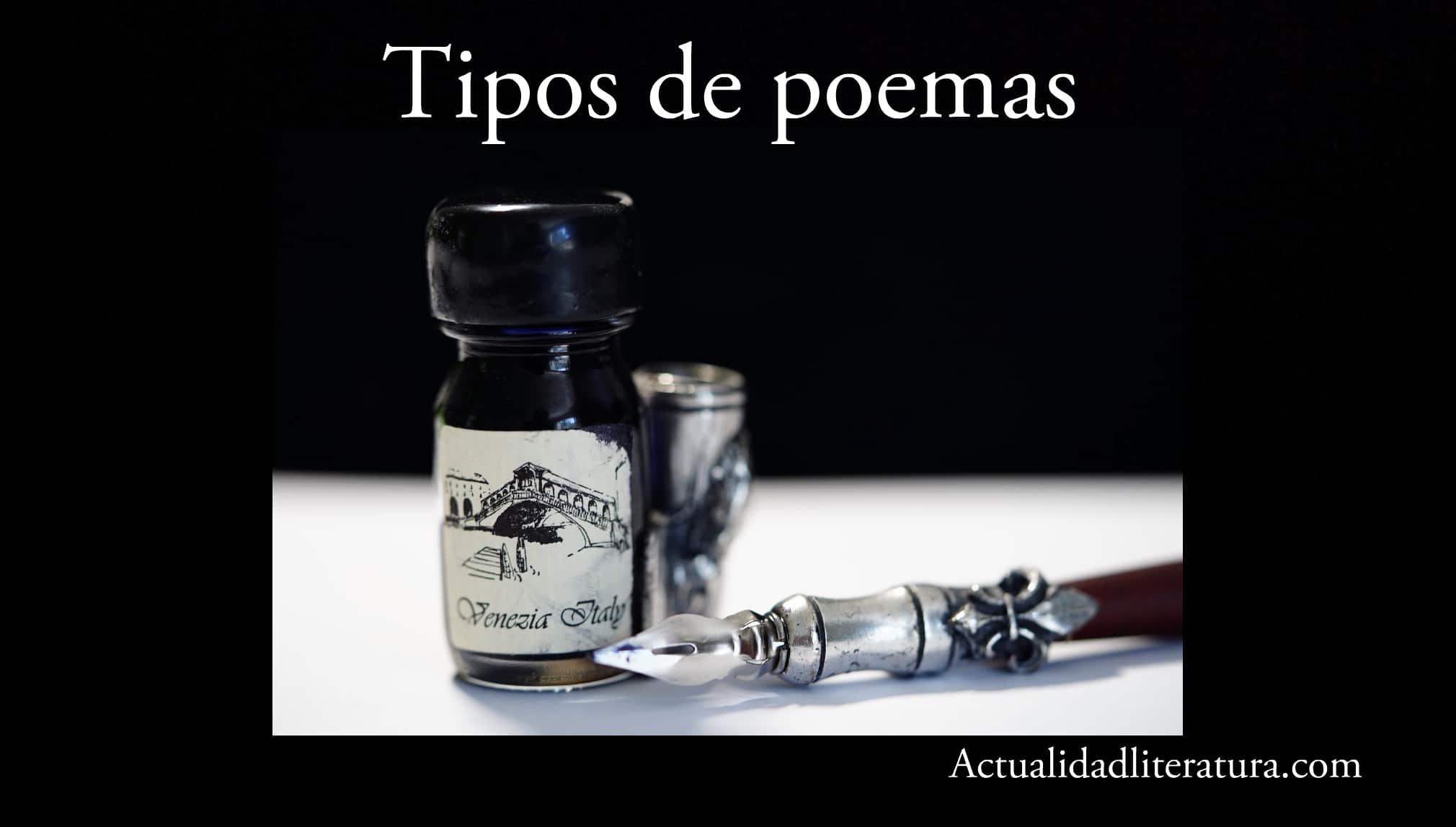 Tipos de poemas.