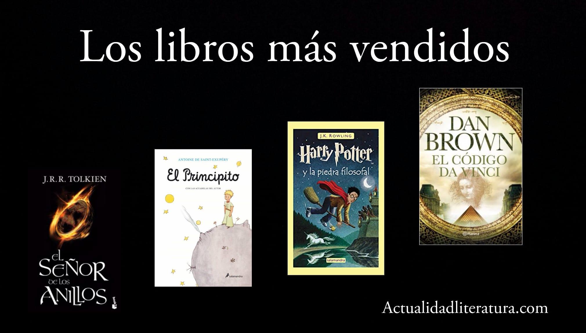 Los libros mas vendidos.