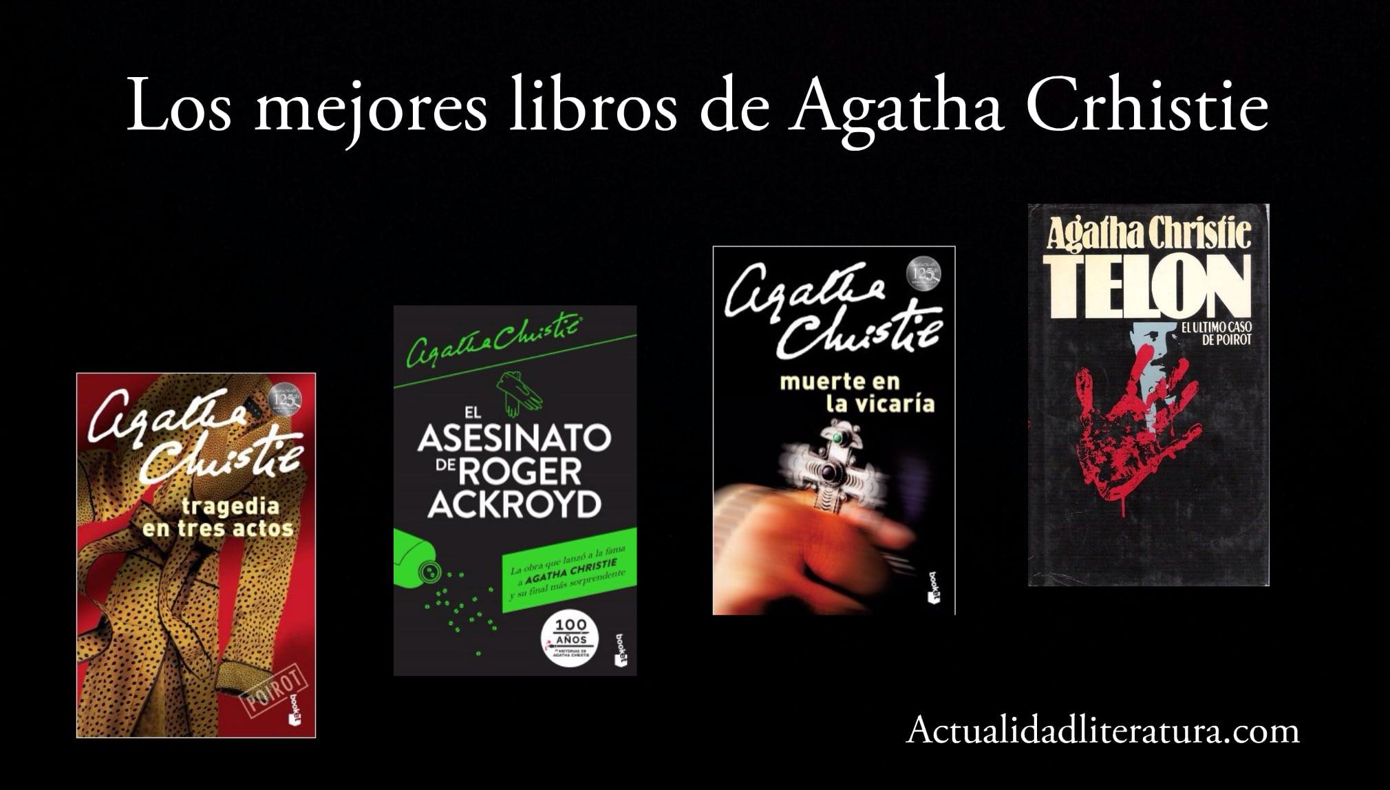 Los mejores libros de Agatha Crhistie.