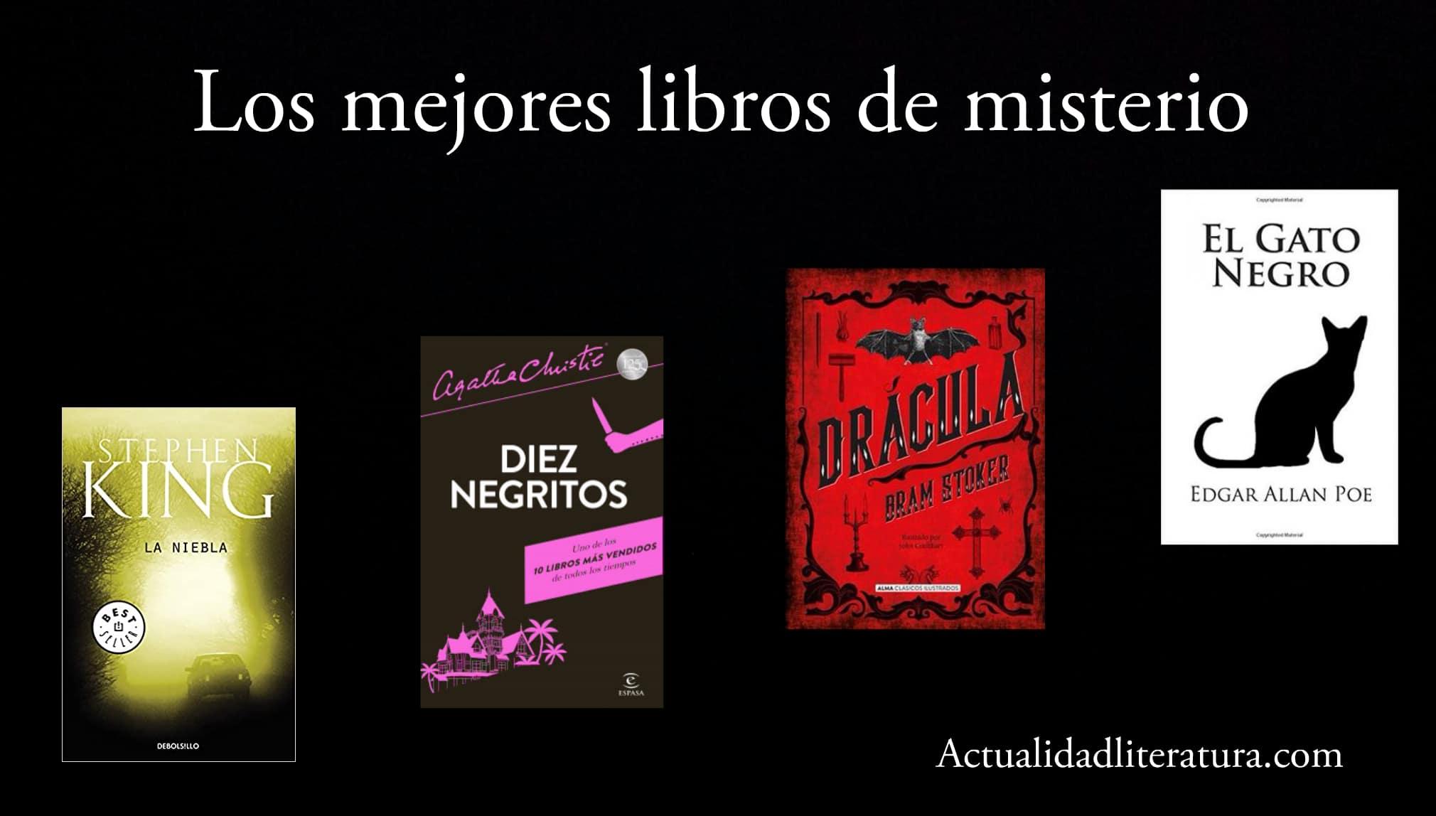 Los mejores libros de misterio