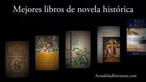Mejores libros de novela histórica