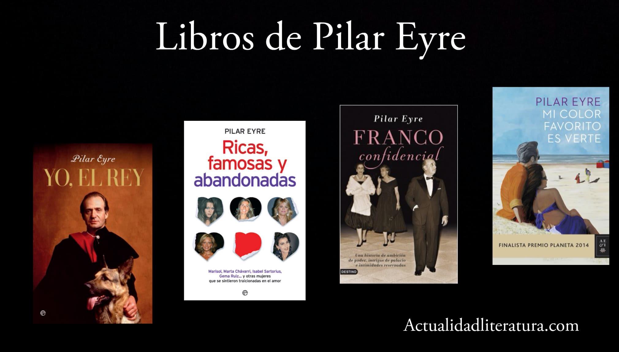 Libros de Pilar Eyre