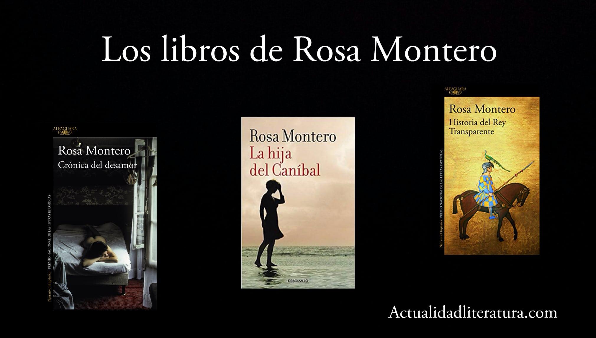 Libros de Rosa Montero