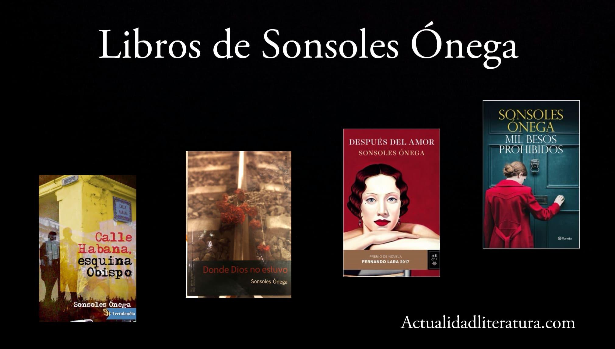 Libros de Sonsoles Ónega