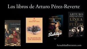 Los libros de Arturo Pérez-Reverte