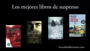 Los mejores libros de suspenso