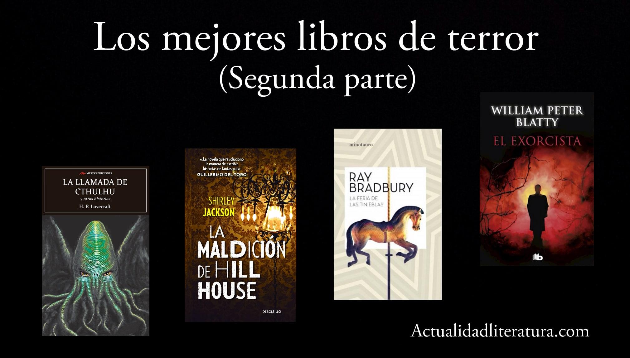 Los mejores libros de terror (segunda parte).