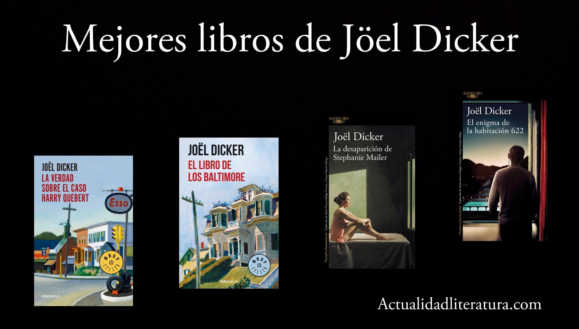 Mejores libros de Jöel Dicker