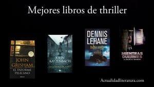 Mejores libros de thriller