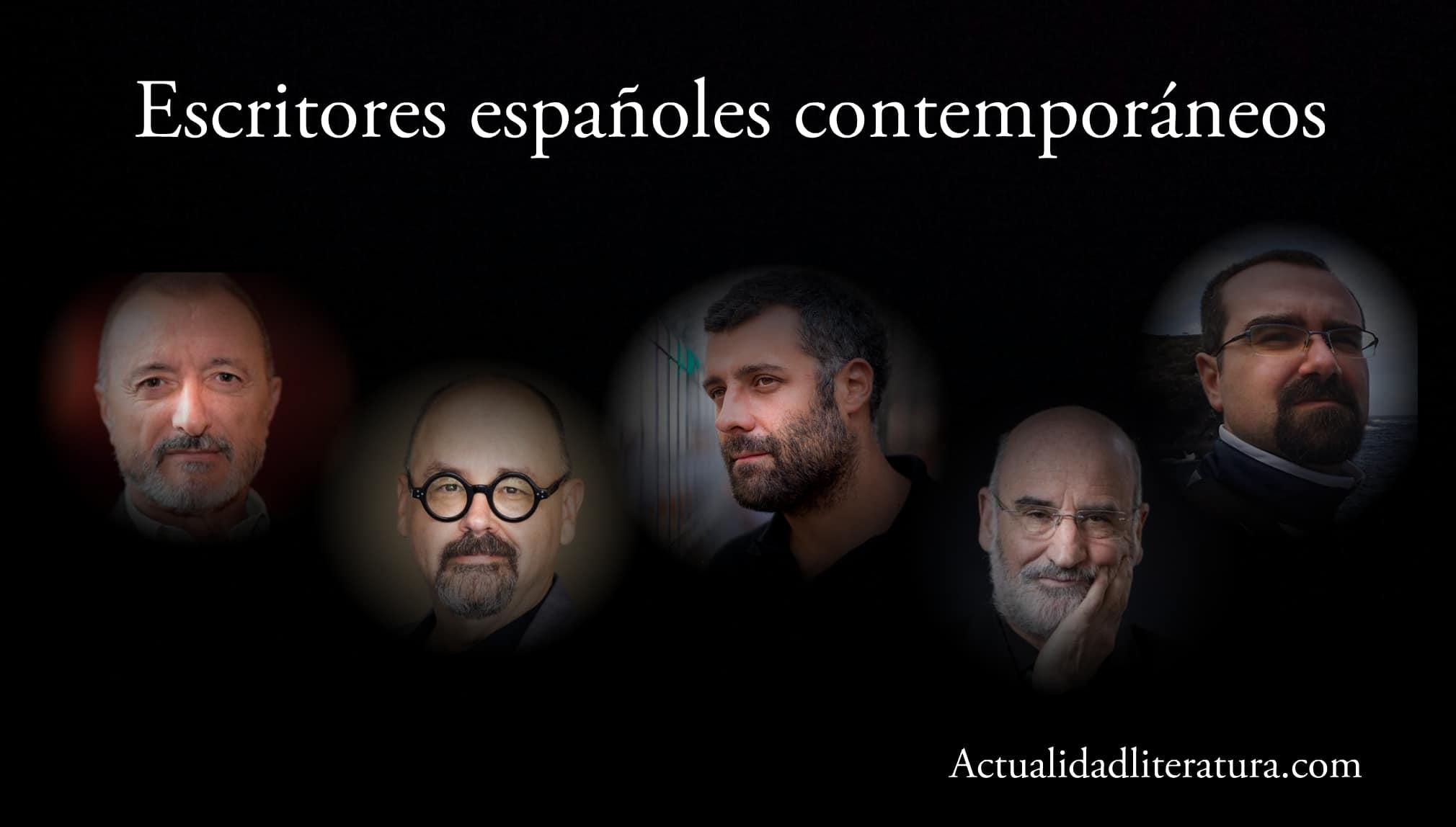 Escritores españoles contemporaneos