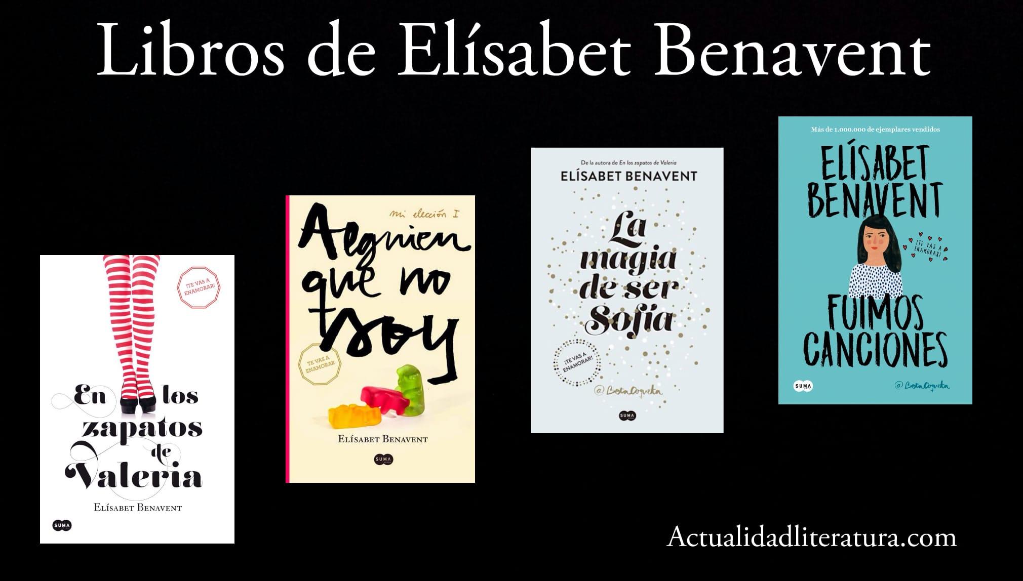 Libros de Elísabet Benavent