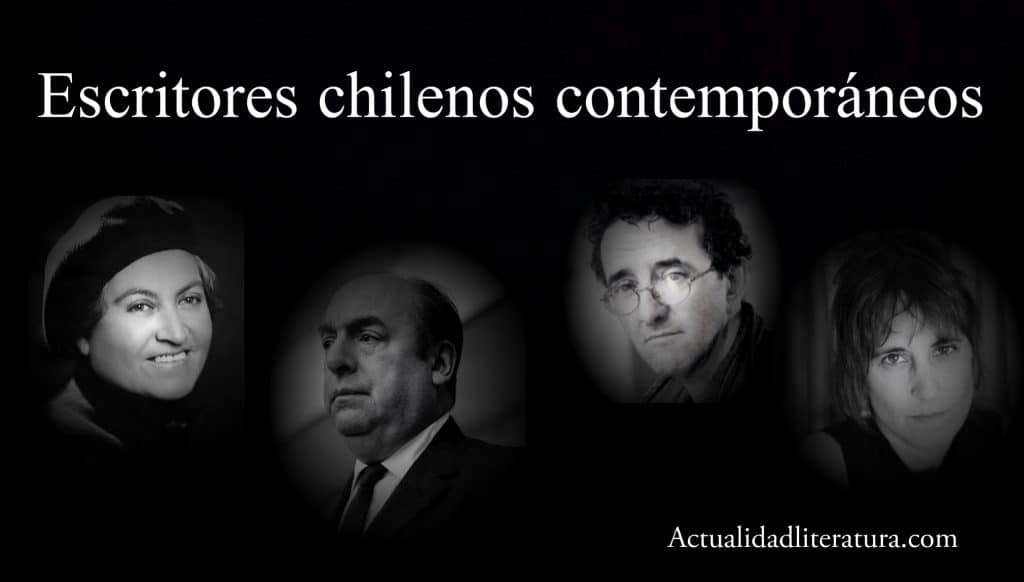 Escritores chilenos contemporáneos